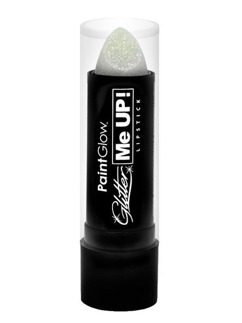 White Glitter Me Up Lipstick