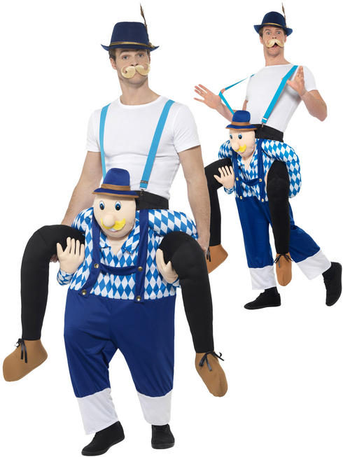 Adult's Bavarian Piggyback Costume