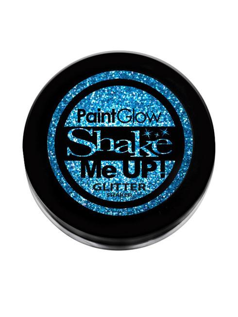Blue Holographic Glitter Nail Shaker