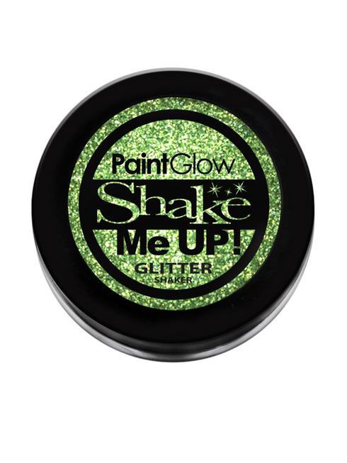 Green Holographic Glitter Nail Shaker