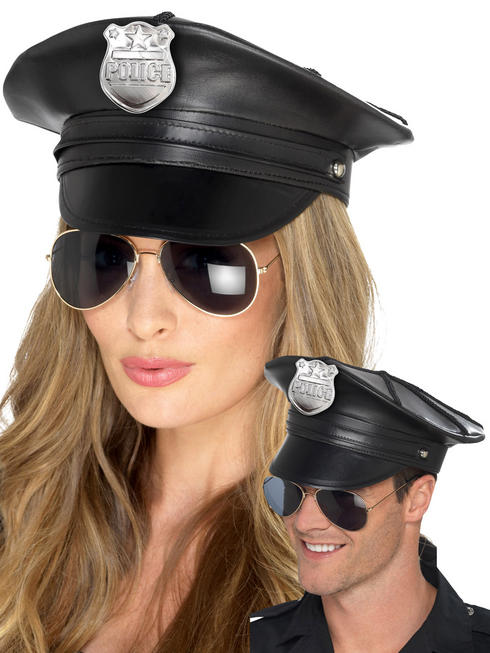 Adults Deluxe Police Hat