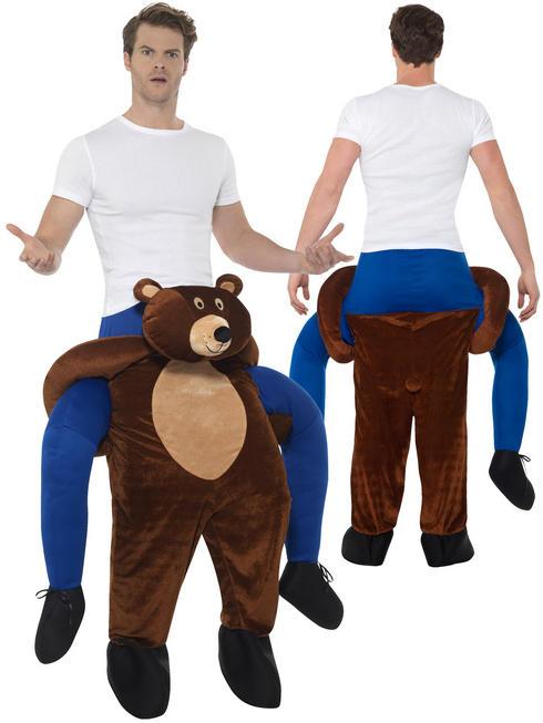Adult's Bear Piggy Back Costume