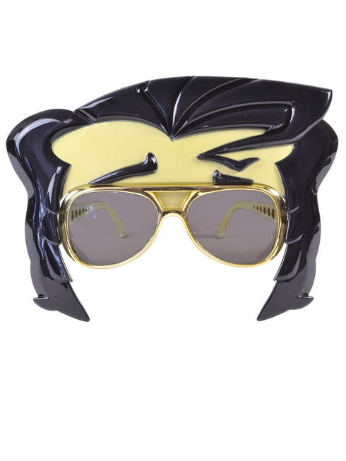 Adult's Rock Star Glasses With Quiff