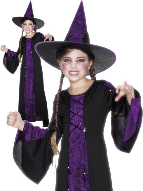 Girl's Bewitched Costume