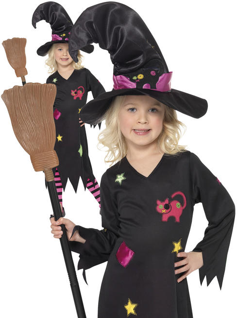 Girl's Cinder Witch Costume