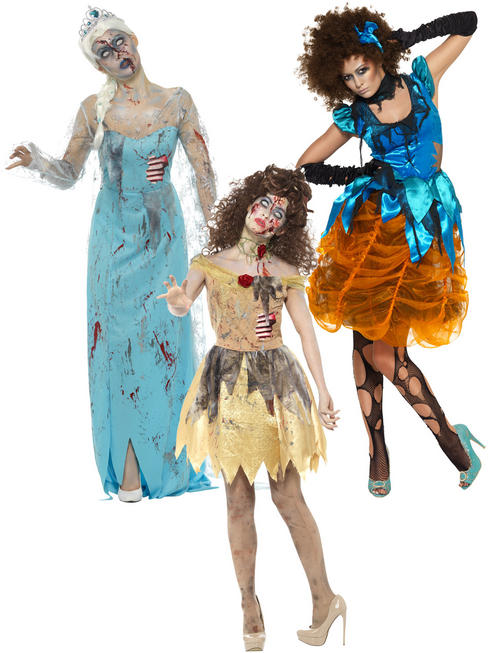 Ladies Zombie Fairytale Costume