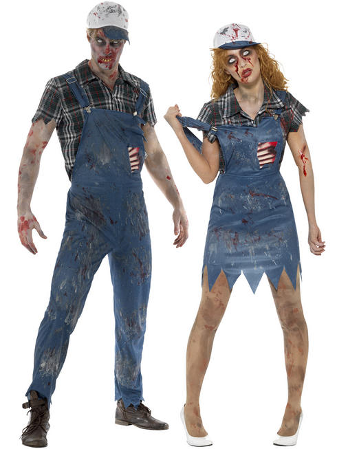Adult's Zombie Hillbilly Costume