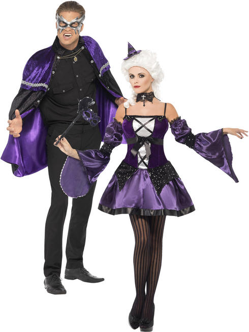Adult's Witch / Phantom Masquerade Costume