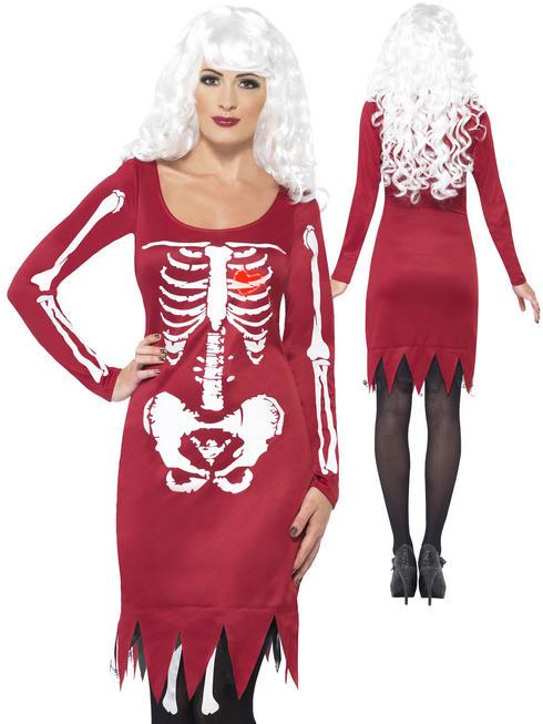 Ladies Beauty Bones Costume