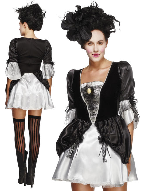 Ladies Fever Baroque Fantasy Costume