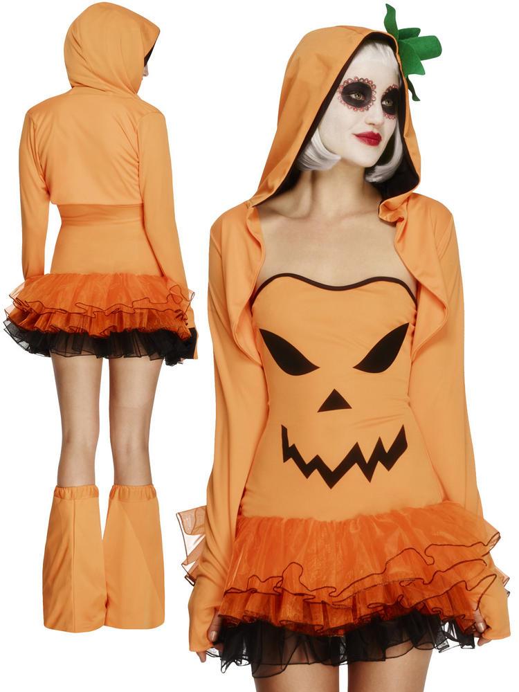 Ladies Fever Pumpkin Costume