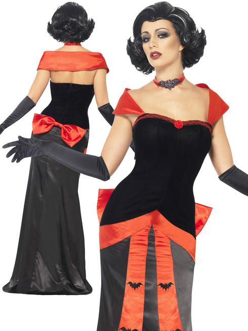 Ladies Glam Vampiress Costume