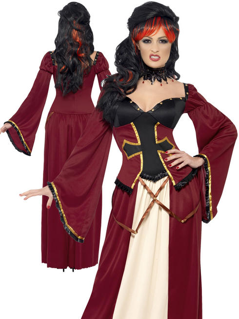Ladies Gothic Vampiress Costume