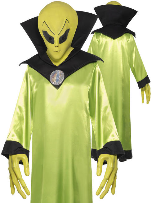 Men's Alien Lord Costume