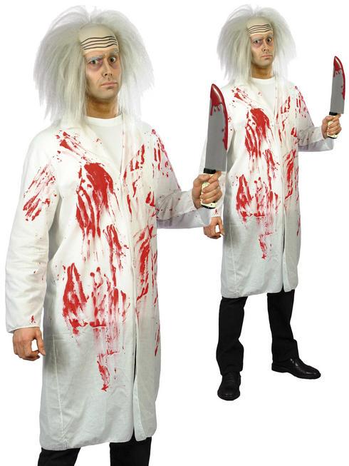 Men's Doctor's Coat With Blood