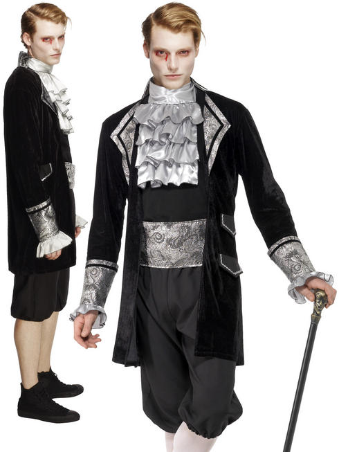 Men's Fever Baroque Vampire Costume