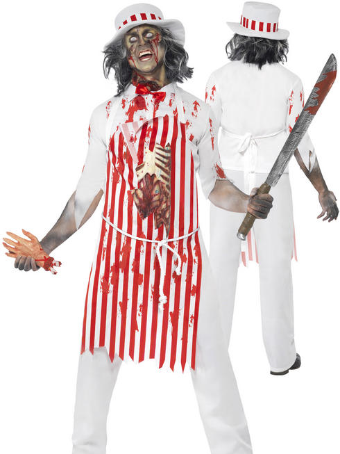 Mens Hell's Kitchen Bloody Butcher Costume