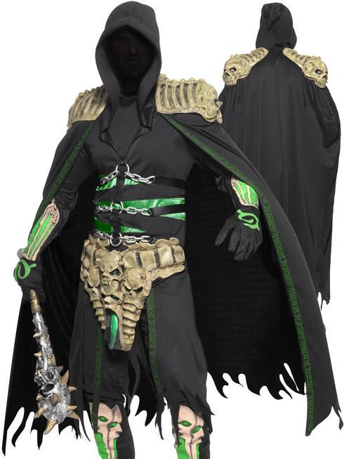 Mens Soul Reaper Latex & Eva Costume