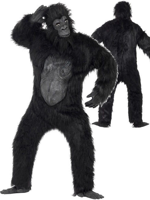 Men's Deluxe Gorilla Costume
