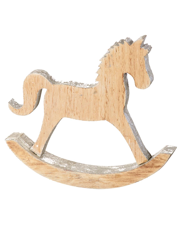 Heaven Sends Wooden Rocking Horse