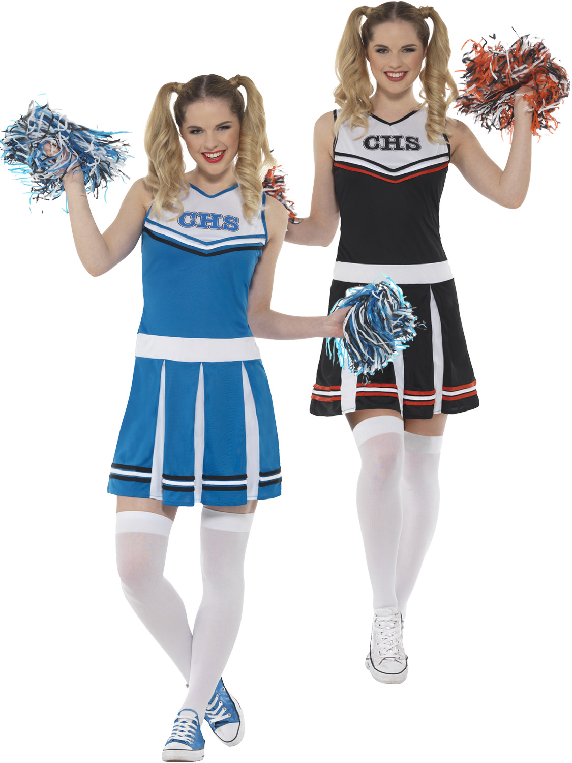 Ladies cheerleader costume adults school fancy dress womens sexy transform yourself into a cheerleader with this ladies costume its perfect if you are dressing up for a school themed fancy dress party solutioingenieria Images