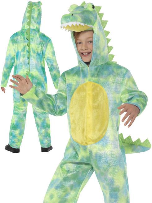 Boy's Deluxe Dinosaur Costume
