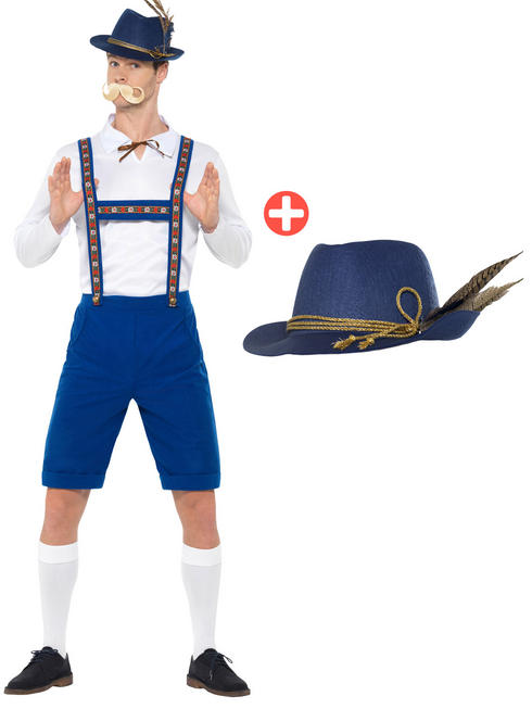 Men's Bavarian Costume + Hat