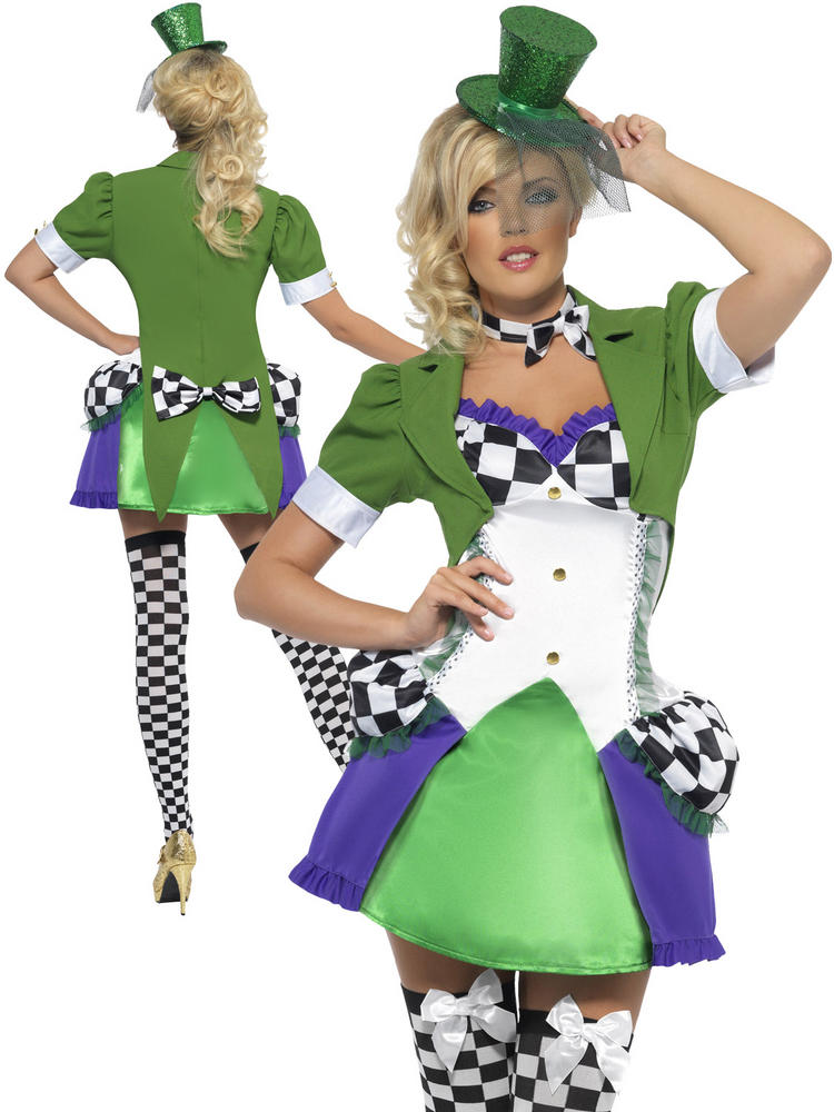 Ladies Fever Miss Hatter Costume
