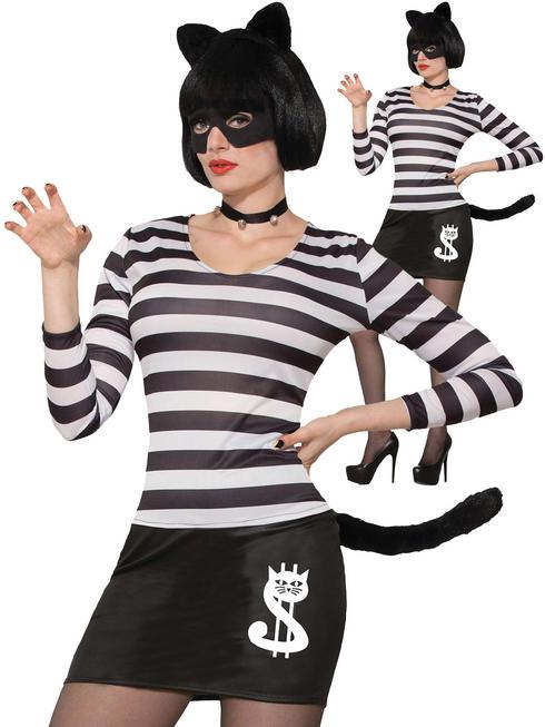 Ladies Cat Burglar Costume