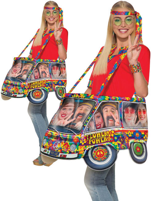 Adult Step In Hippie Van Costume