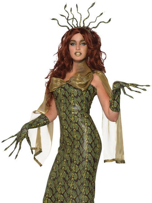 Ladies Deluxe Medusa Costume - Standard