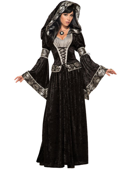 Ladies Dark Sorceress Costume - Standard