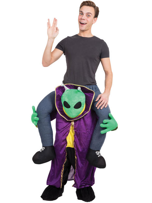 Adult's Alien Piggy Back Costume