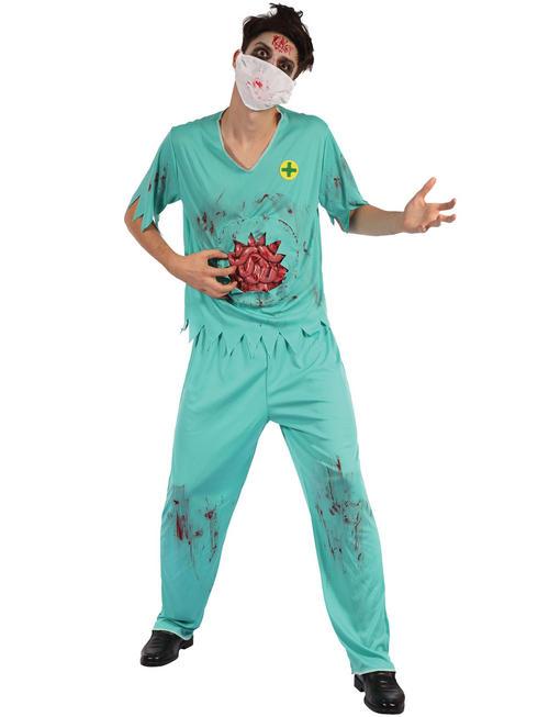 Men's Zombie Surgeon Costume