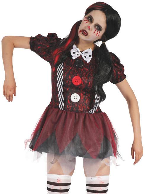 Ladies Creepy Doll Costume - Standard