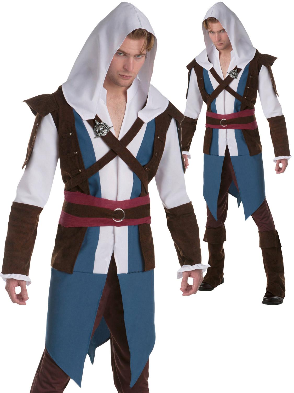 Men S Ezio Auditore Connor Classic Edward Kenway Costume