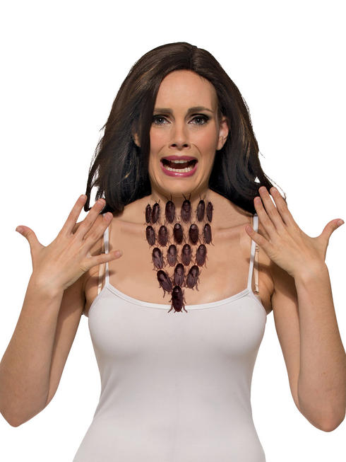 Ladies Cockroach Necklace