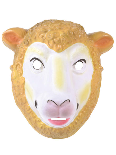 Adult's Plastic Sheep Mask