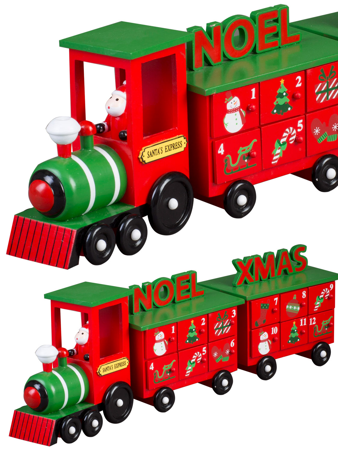 countdown to christmas in style with this cute xmas train advent calendar perfect for adults and children
