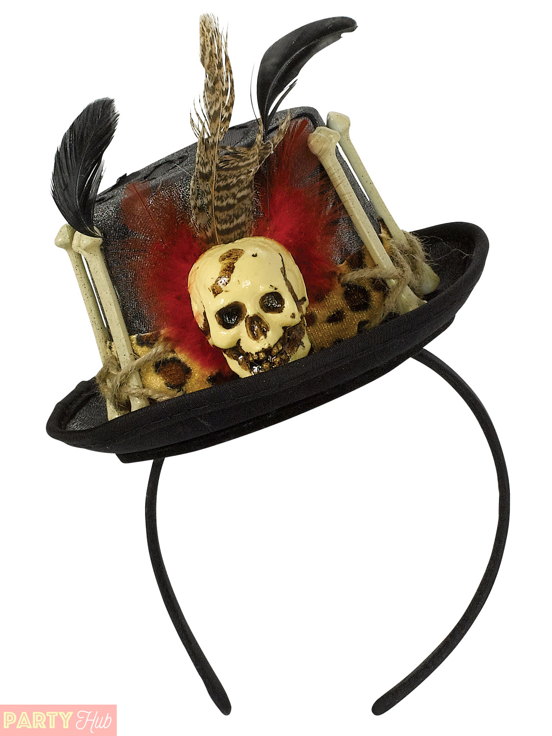 Adult Witch Doctor Fancy Dress Mens Ladies Halloween Costume ...