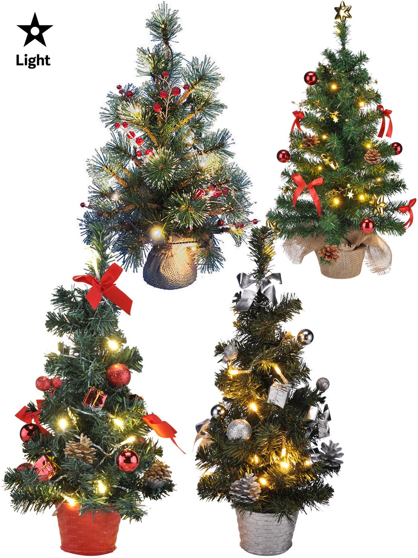 Small White Artificial Christmas Tree