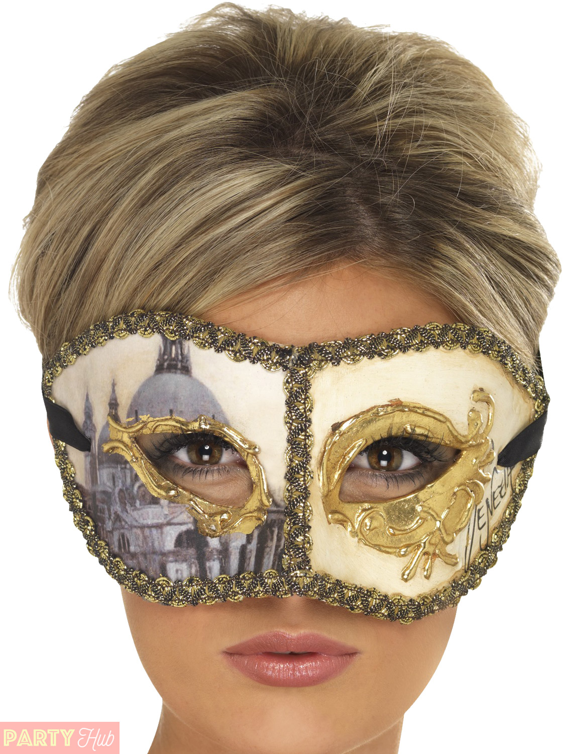 Adults-Venetian-Masquerade-Mask-Mens-Ladies-Halloween-Fancy-Dress-Accessory