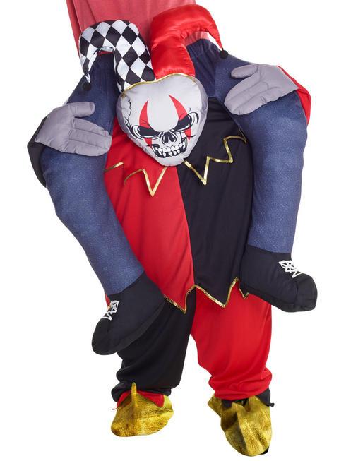 Adult's Jester Piggyback Costume