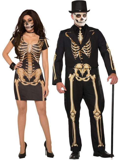 Adult's Formal Skeleton Costume