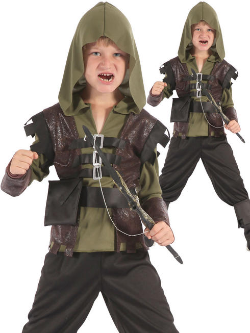 Boy's Hunter Costume