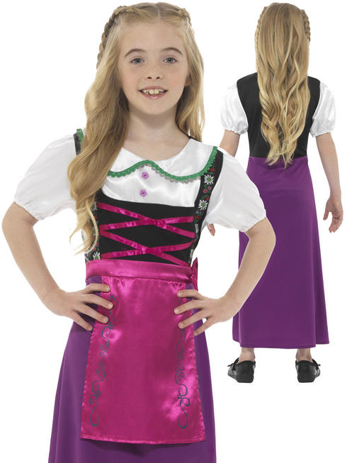 Girl's Bavarian Princess Costume