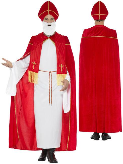 Men's Deluxe Saint Nicholas Costume