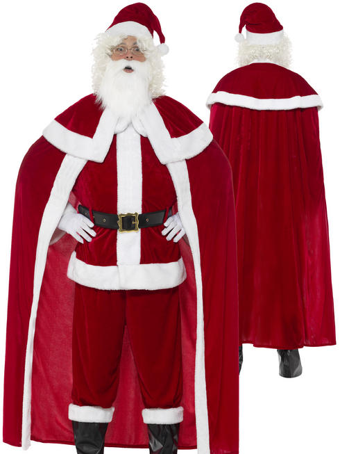 Men's Deluxe Santa Claus Costume