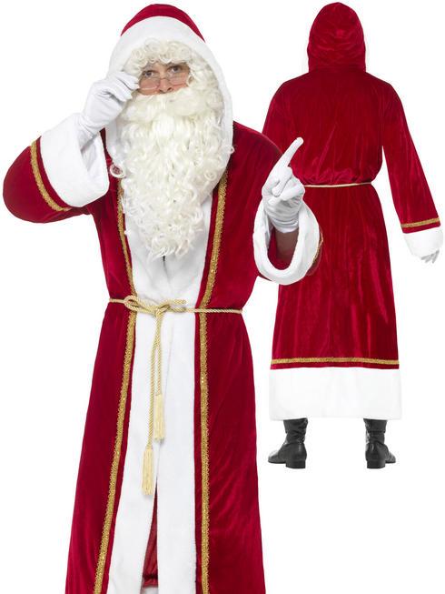 Men's Deluxe Santa Cloak