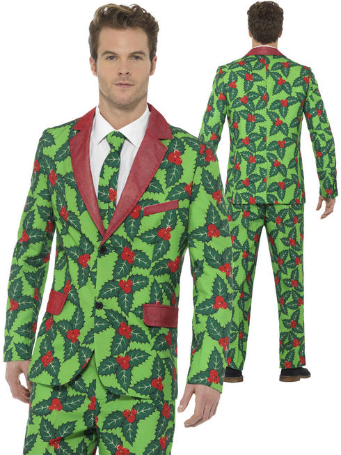 Men's Holly Berry Suit